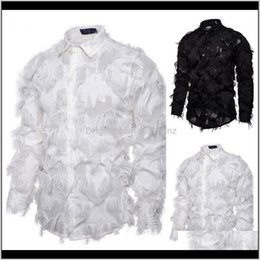 Wholesale hawaiian dress shirts resale online - Dress Clothing Apparel Drop Delivery Shirt Ethnic Style Vintage Floral Woof Loose Designer Long Sleeve Mens Hawaiian Shirts Ufapu