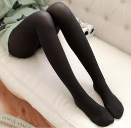 8 Colors 120D Women Thick Footed Socks Tights Opaque Stockings Pantyhose