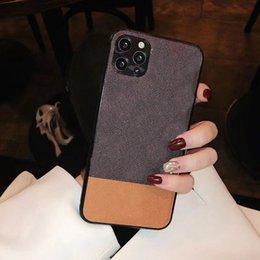 Moda Cor Correspondência Casos Designers Phone Case para iPhone 12 Pro 11 7 8 7P 8P x Max XR em Promoção