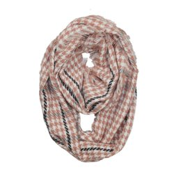 scarves cotton bird Australia - New autumn and winter women's thousand bird Plaid cashmere like scarf neck warm cover
