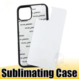 Wholesale ip covers resale online - US stock D Sublimation Hard Plastic DIY Designer Phone Case PC Sublimating Blank Back Cover for iP XS MAX Samsung Note20