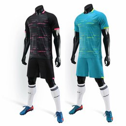 Wholesale cycling jerseys soccer resale online - Soccer jerseys men sport running cycling football adults kits custom name number soccer uniforms suits Training kits