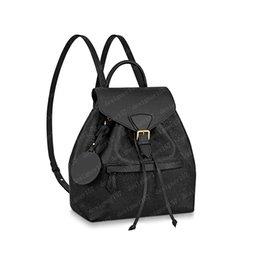 venda por atacado 2021 mochilas mini mochila mulheres bolsas saco de shouler bolsa de corpo cruzar bolsa bolsa de couro marrom em relevo preto 45205 27.5x33x14cm 17x20x10.5cm # MOB-01