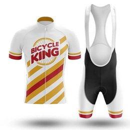 Wholesale Racing Sets Pro Bicycle Wear Summer Quick Dry Cycling Jersey D Gel Pad Bike Shorts Set MTB Shirt Kit Maillot Cyclisme Homme