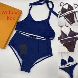Wholesale Womens Sexy Bikini Swimwear Fashion Classic Pattern Printed Beach Swimsuit Various Styles Close-fitting and Comfortable Women Underwear