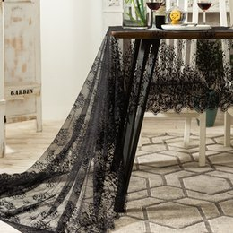 Retro Lace Table Cloth Household Jacquard Tablecloth Multi Size Home Hotel Restaurant Tablecloths Decoration on Sale