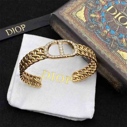 Wholesale 70% Off sales in Factory Stores new classic woven Bracelet women's net red with simple fashion diamond inlaid open