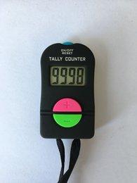 Toptan satış El Elektronik Dijital Tally Counter Clicker Güvenlik Spor Salonu Okulu Ekle / Çıkarma Model Sayaçları