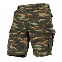 camo sweatpants UK - Summer Mens Shorts Tactical Military Army Cargo Hiking Combat Camo Male Plus Size Sweatpants Men Casual Men's