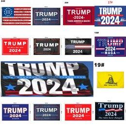 Wholesale 44 style Trump Flag 2024 Election Flag Banner Donald Trump Flag Keep America Great Again Ivanka Trump Flags 150*90cm