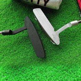 Golfklubba putters för män högerhänt rostfritt stål putter med huvudbräda utomhus sport nybörjare drivrutiner produkter tillgångar
