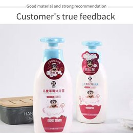 Wholesale Bath Sets Baby strawberry shower gel 350ml for soft skin