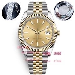 CAIJIAMIN-U1 Quality Mens Zegarki 36 / 41mm Automatyczny Zegarka Ze Stali Nierdzewnej 28/31 Kobiety 2813 Mechaniczne Zegarek Kwarcowy Luminous Montre De Luxe