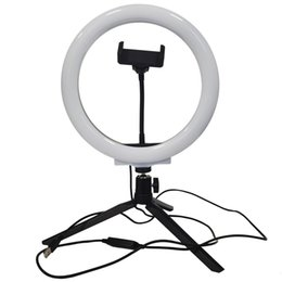 Wholesale General-purpose brackets mobile phone live broadcasting stand desktop web celebrity multi-functional and convenient replenishing light beautifying