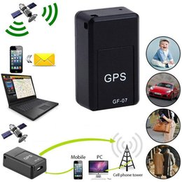 Автомобильные GPS Trackers GF-07 тревоги мини длинный режим ожидания магнитный SOS трекер локатор устройства голосовой рекордер портативный портативный на Распродаже