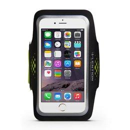 Опт Жрелье спортивные серии повязки, водостойкие, совместимые с 5,1 до 6,2-дюймовых телефонов (18,5 дюйма, черный зеленый)