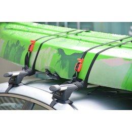 4.5M Tablero de surf KAYAK Techo de techo Correa Straps Universal Lugagages Lajas Securando la correa con la cámara de metal Hebilla 500kg 591 x2 en venta