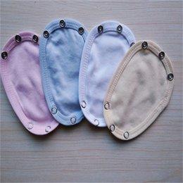 4PCS Baby Romper Partner Utility Bodysuit Diaper Jumpsuit Extend Film 4 Colors 966 Y2 on Sale