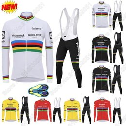 Wholesale Racing Sets World Quick Step Cycling Jersey Summer Set Clothing Road Bike Suit Uniform Maillot Cyclisme Ropa Ciclismo