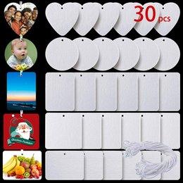 Toptan satış Fotoğraf Kitapları 30 Adet Set Sublime Boş Hava Spreyi Malzeme Sac Keçe Beyaz Kokusuz Ev Kokuları Ile Araba Spreyleri Ile