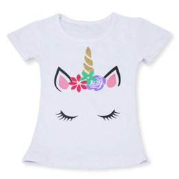 rainbow baby clothes Canada - Unicorn Baby Dresses 2019 Summer Princess Party Unicorn Rainbow tutu Dress Kids Clothing Infant Baby Birthday Party Ball Gown 80 Y2