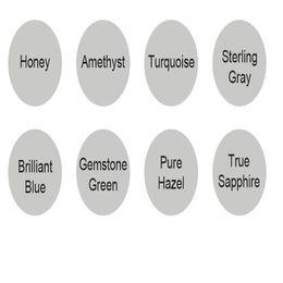 Venta al por mayor Cosméticos más baratos Casmetics Casas de colores Pure Hazel Contactos coloridos Cajas en venta
