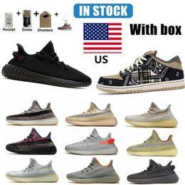Kanye Dunk SB Running Shoes Yeezy Top Quality Yecheil Cinder Static Clay Tail Light Cream White Black Red Zebra Men Women size 36-46