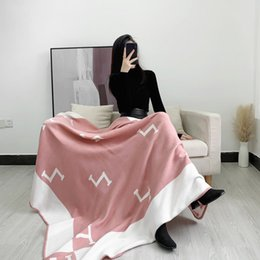 Wholesale Pure Cashmere Sarongs Blanket, Lightweight Sofa, Watching TV, Leisure Beach Bath Towel Size 135CM*165CM embroidery