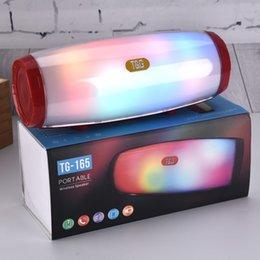 Venta al por mayor de TG157 Portátil LED altavoz Bluetooth TG-157 Radio impermeable inalámbrico Radio FM Mini columna Bass MP3 Subwoofer Caja de música