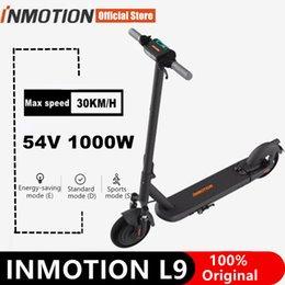 EU-Aktie Original Inmotion S1 L9 Smart Electric Roller 1000 Power 10 Zoll Reifen Faltbare Kickscooter Max Geschwindigkeit 30km / h Scooter mit App inklusive Mehrwertsteuer im Angebot