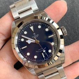"""3a + najlepsza jakość zegarek znanej marki """"Tudor"""" zegarki Ze stali nierdzewnej Zespół Automatyczne samodzielne wiatru z pudełko 02 #"""