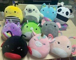 Fashion Movies Plush Toy For Party Favor Animal Doll Kawaii Unicorn Dinosaur Lion Soft Pillow Buddy Stuffed Kids Gift