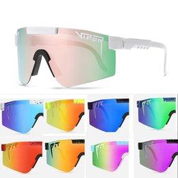 Pit Viper Reiten Sonnenbrille MTB UV 400 Polarized Sport Goggles Fahrrad Mountainbike Brille Männer Frauen Radfahren Eyewear im Angebot