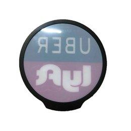 Опт U + L Светодиодные Знаки Света Автомобиль Окна Значки включения / Выкл. Репродукция переключателя для водителя такси
