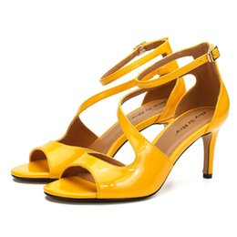 high puppets Australia - Mey Hey Si Zy19-22 Puppet Cd Thin Men's and Women's High Heel Sandals D1XY
