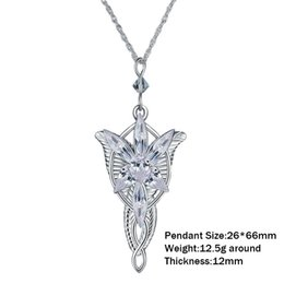 Wholesale twilight princess resale online - Necklaces Sterling Silver Arwen Fashion Fairy Princess Twilight Star Necklace Women s Sweater Chain Accessories Y1