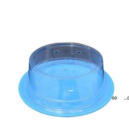 Plastic Lid For Sushi Dish Buffet Conveyor Belt Sushi Reusable Transparent Cake Dish Cover Restaurant Accessories FWE10541 on Sale