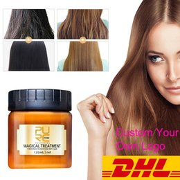 Free Custom Logo DHL Purc Magical Treatment Mask Conditioner 5 Seconds Repairs Damage Suitable for Dry & Damaged Hair on Sale