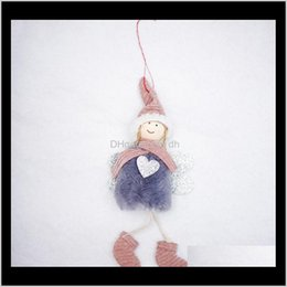 plush toy dolls angels 2021 - Decorations Cute Angel Plush Doll Christmas Tree Decoration Pendant Kids Toys Owa1998 Uxkt7 Gej3T