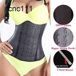 workouts for short women UK - Latex Waist Trainer Body Shaper Shapewear Slimming sheath Belly Girdle Workout Tummy Control Corset for Women Colombian