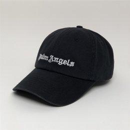 Avrupa ve Birleşik Devletler Palmiye Palmiye Melek Angels Beyzbol Şapkası Kaliteli Pamuklu Yıkama Eski İşlemeli Şapka Cap Mektupları Yap