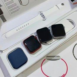 44 mm voor horloge serie 6 iWatch 6 IWO13 Smart Watch Sport horloge met draadloos opladen met originele verpakkingsdoos