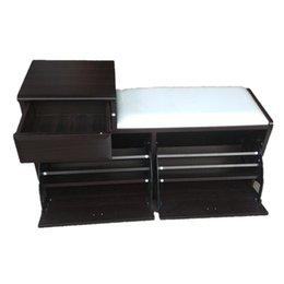 Wholesale Modern Wooden Shoe Cabinet Furniture Design Storage Rack Factory Outlet