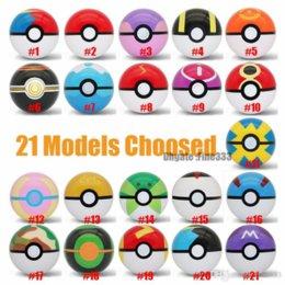 21 Модели ELF Ball Toys Master Ball GS / Moon / Park / Luxury / Sport / Timer / Love Ball детские подарки мультфильм фигурки игрушки Имя на Распродаже
