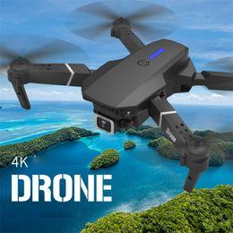 Wholesale Intelligent Uav LS-E525 Drone 4k HD Dual-Lens Remotecontrol Mini Drones WiFi 1080p Real-time Transmission FPV Dual Cameras Foldable RC Quadcopter Toys
