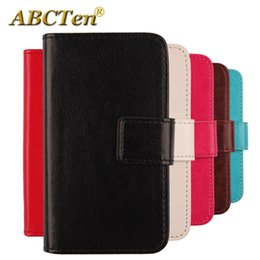 Wholesale cubot mobile phones for sale - Group buy For Cubot Max Case Inch Solid Color Leather Flip With Card Packet Bags Mobile Phone Holster Cell Cases