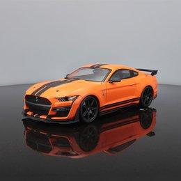 Vente en gros Maisto 1:18 Shelby GT500 Alliage Modèle de voiture Simulation Décoration Collection Cadeau Jouet Die Modèles Modèles Garçon Jouets