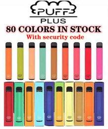 Puff Bar plus 80 Farbe Einwegzigaretten Vape Pen Device 550mAh Batterie 800 Puffs 3.2ml Bars Vorgefüllt XXL Doppelstock Bang Air Lux im Angebot