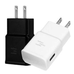 Toptan satış Hızlı Uyarlanabilir Duvar Şarj 5 V 2A USB Duvar Şarj Güç Adaptörü Akıllı Cep Telefonu Için Android Telefon