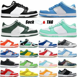 Wholesale SB Dunks Running Shoes Low Easter Syracuse Coast Black White Green Kentucky Chunky Dunky Elephant University Blue Mens Skate Sports Sneakers Dunk Womens Trainers